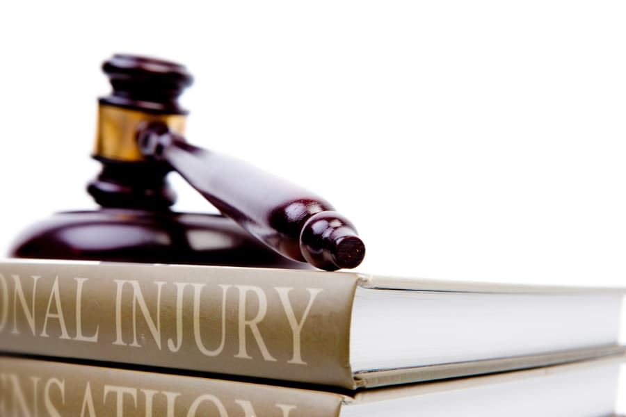 personal injury law books